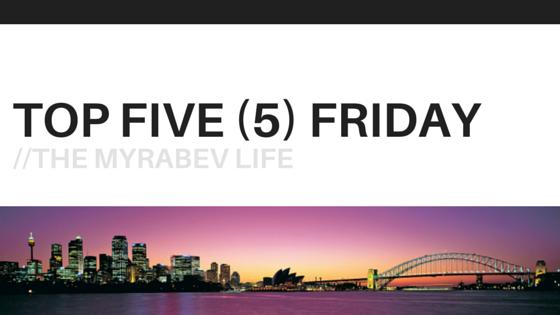 Top Five Friday Frankfurt Getaway