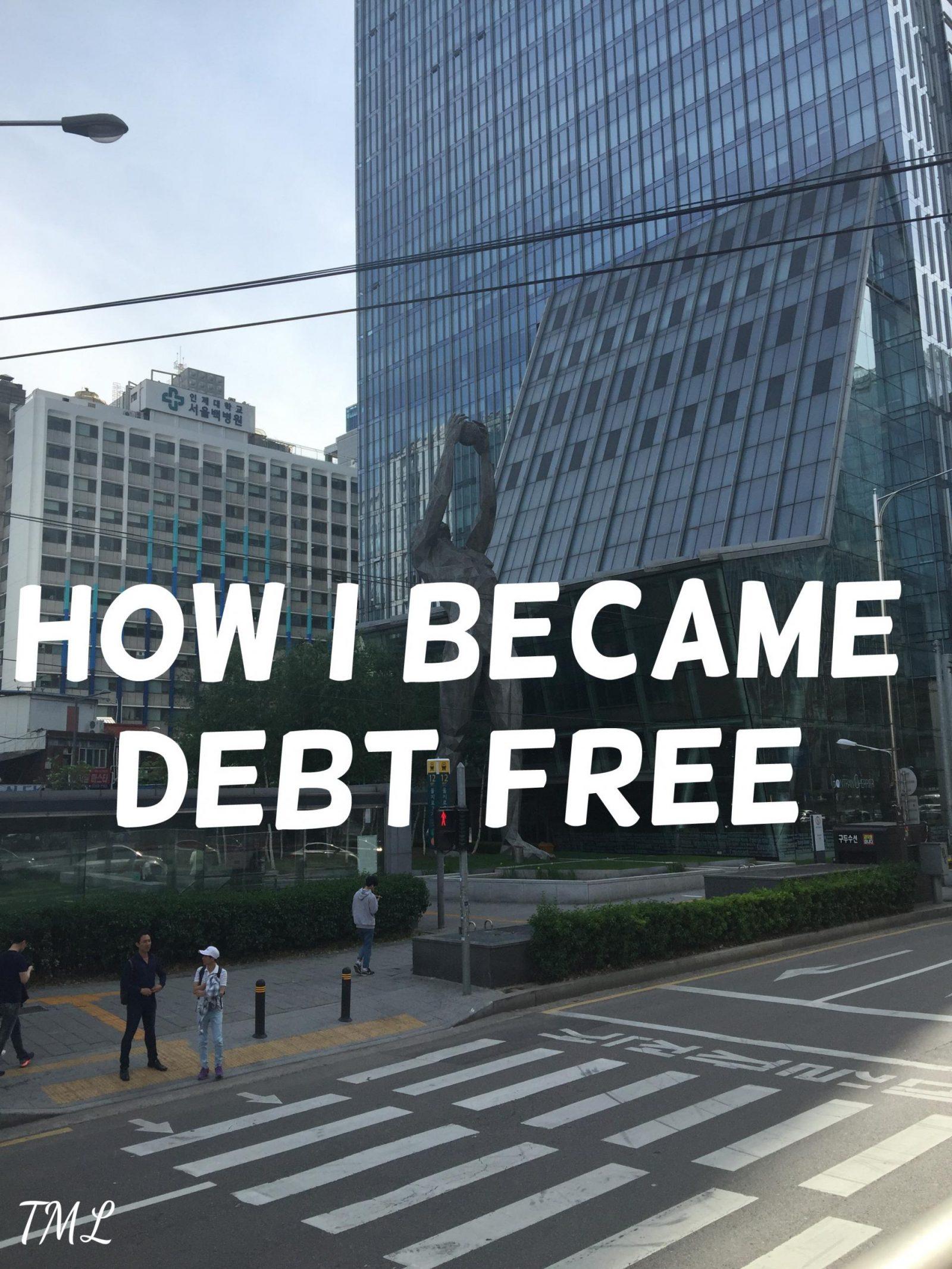 How I became debt free