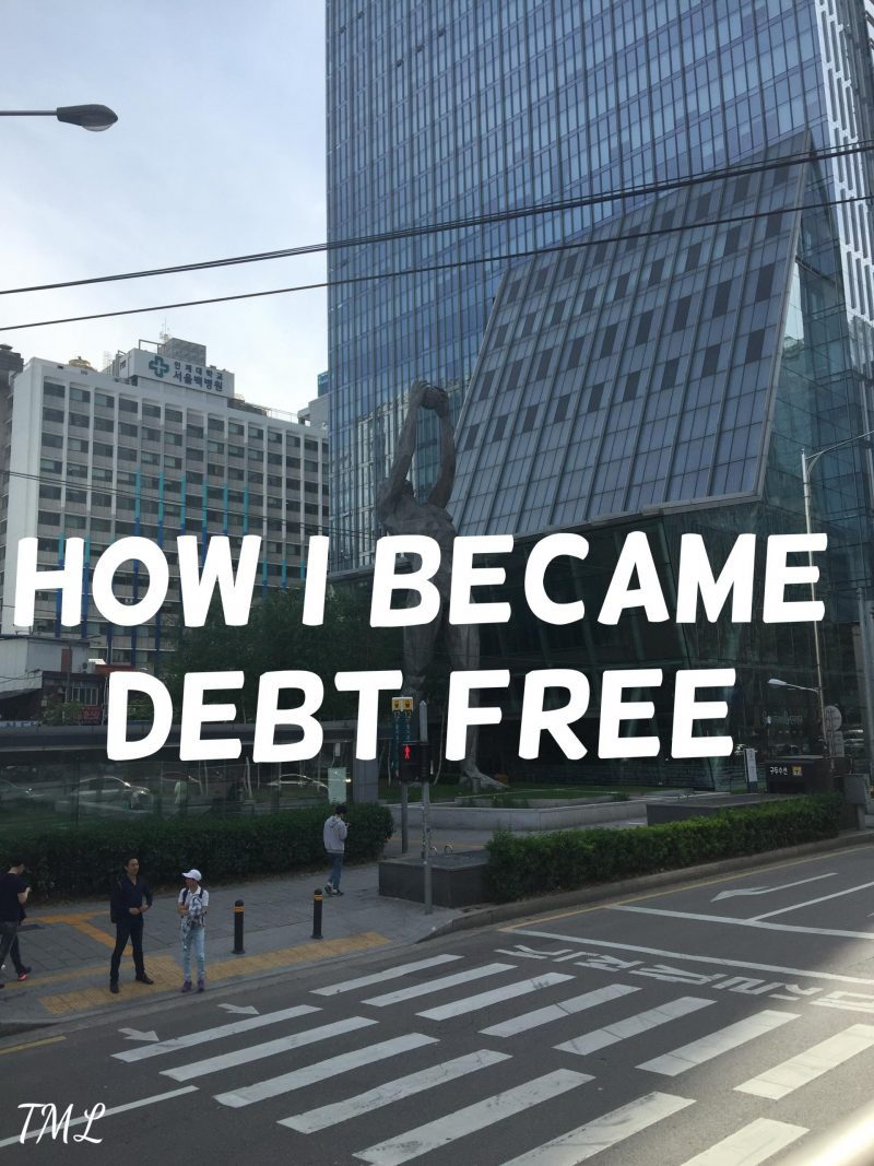 Personal Confessions ~ How I became debt free