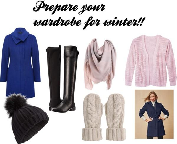 prepare wardrobe for winter
