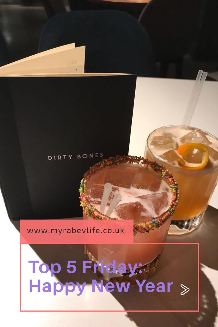 Happy New Year – Top Five Friday
