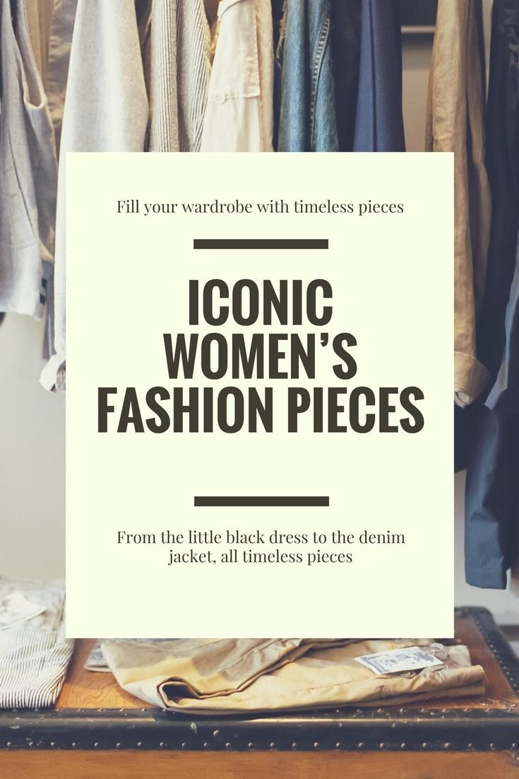 Iconic women's fashion pieces
